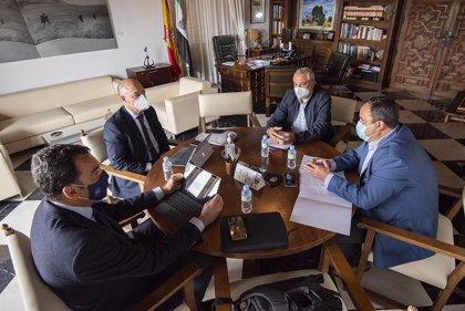 La Diputación de Cáceres pide a CHT que facilite y agilice las gestiones de los ayuntamientos