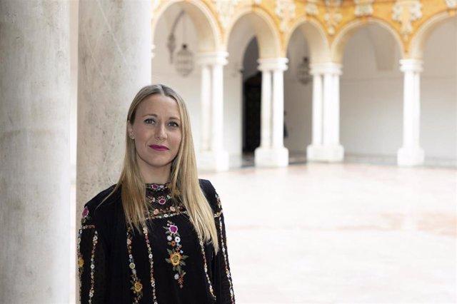 La delegada de Juventud y Deporte de la Diputación de Córdoba, Ana Blasco.