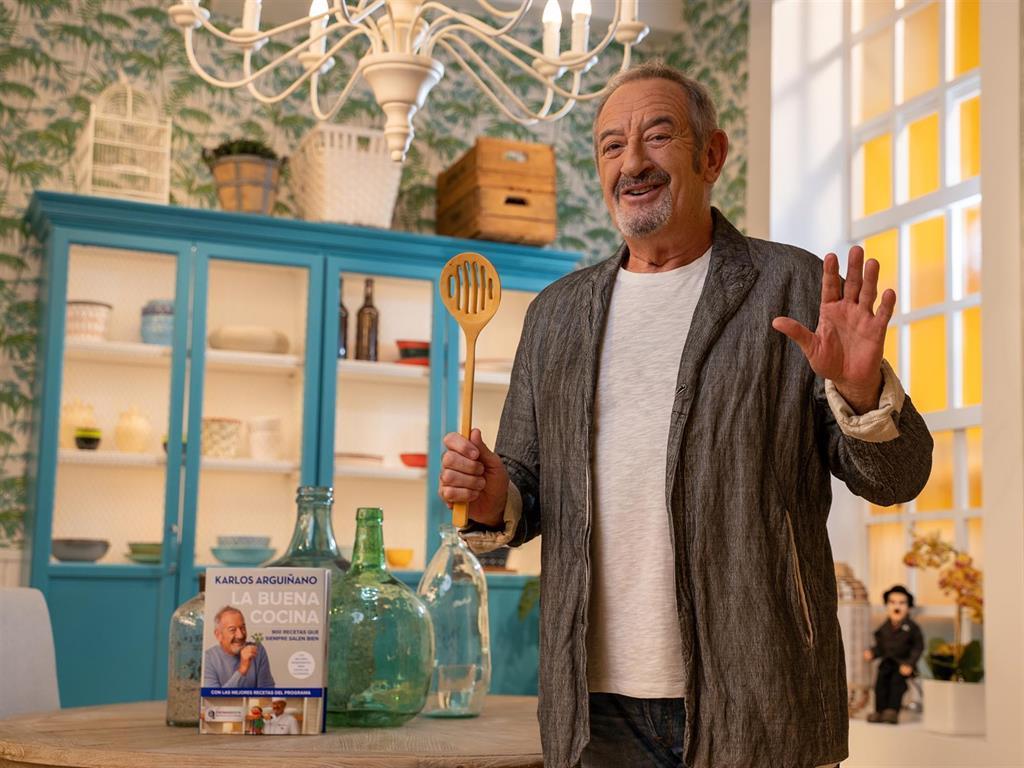 """Karlos Arguiñano, Premio Nacional de Televisión: """"Tal vez sí haya sido pionero en los programas de cocina"""""""