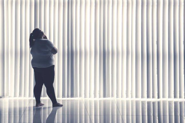 Archivo - Sobrepeso, obesidad.