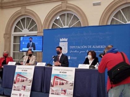 Diputación.-Níjar contará con un nuevo parque de bomberos adscrito al consorcio Levante en 2022