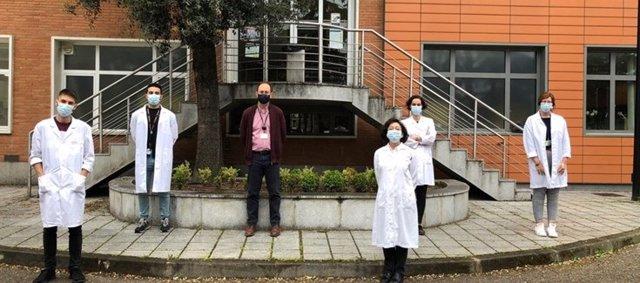 Miembros del equipo de investigación de cáncer de cabeza y cuello en pacientes con anemia de Fanconi