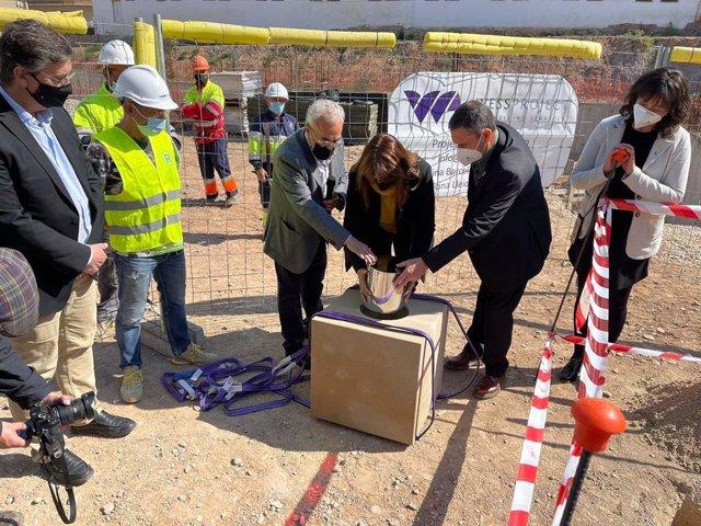 Arxiu - La presidenta del Parlament, Laura Borràs, en un acte a les Garrigues (Lleida).