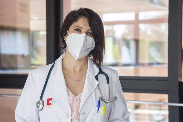 La hematóloga de Sierrallana Rocío Pérez Montes