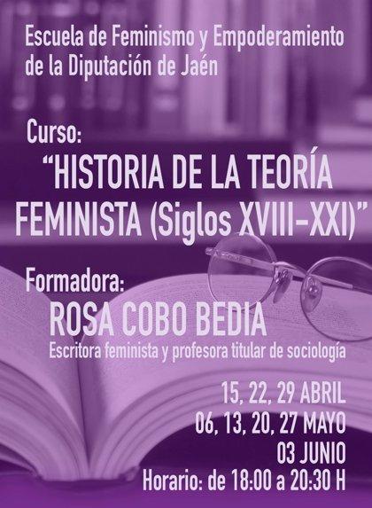 MásJaén.- Más de medio centenar de personas participan en un curso sobre Historia de la Teoría Feminista