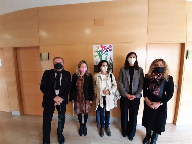 Visita juzgados de Vélez-Málaga