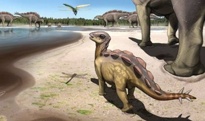 Huella de dinosaurio del tamaño de un gato descubierta en China