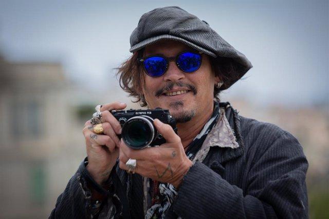 Arxiu - L'actor Johnny Depp a Barcelona.