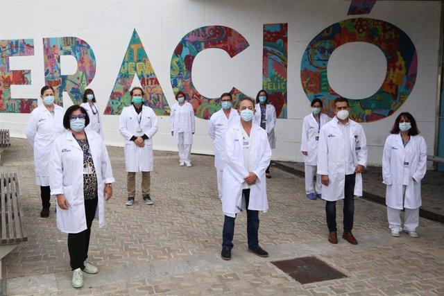 Archivo - Investigadores de la Unidad de Ginecología Oncológica y Patología del Tracto Genital Inferior del Hospital Vall d'Hebron y del grupo de Investigación Biomédica en Ginecología del Vall d'Hebron Institut de Recerca (Vhir)