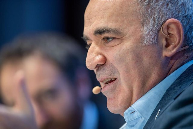 Archivo - El excampeón mundial de ajedrez Garry Kasparov.