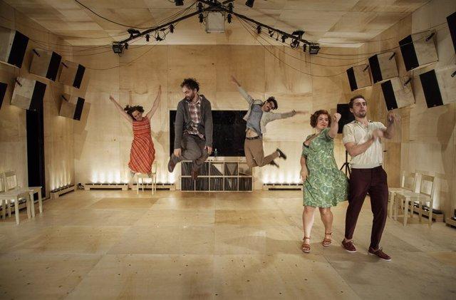 Archivo - Arxiu - Pablo Mesiez torna al Teatre Lliure de Barcelona amb la seva última creació 'Las canciones'.