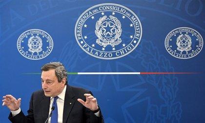 Draghi anuncia una relajación de las restricciones para Italia a partir del 26 de abril
