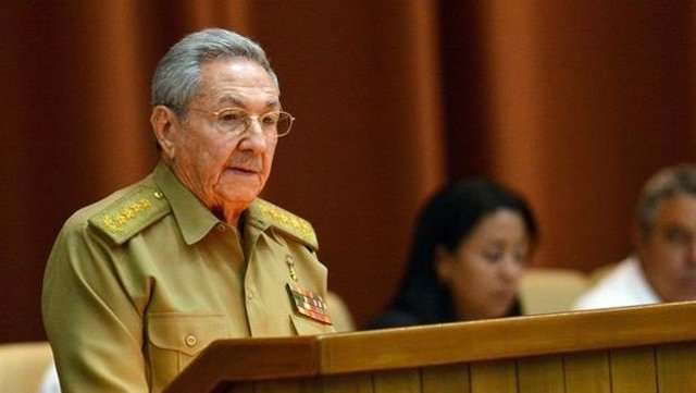 Archivo -    El presidente de Cuba, Raúl Castro, ha reafirmado ante el pleno del Parlamento unicameral que dejará la jefatura del Estado y el Gobierno en abril de 2018, cuando quede constituida la IX Legislatura de la Asamblea Nacional del Poder Popular