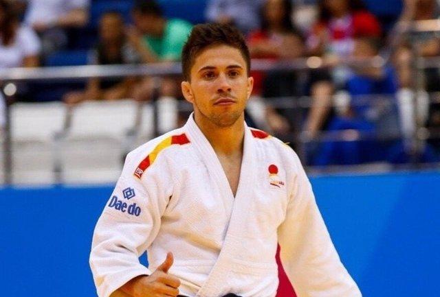El judoca español Fran Garrigós