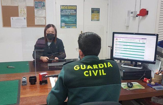 Guardia Civil activa comunicaciones telemáticas respecto a caducidad o renovación de licencias e información relevante