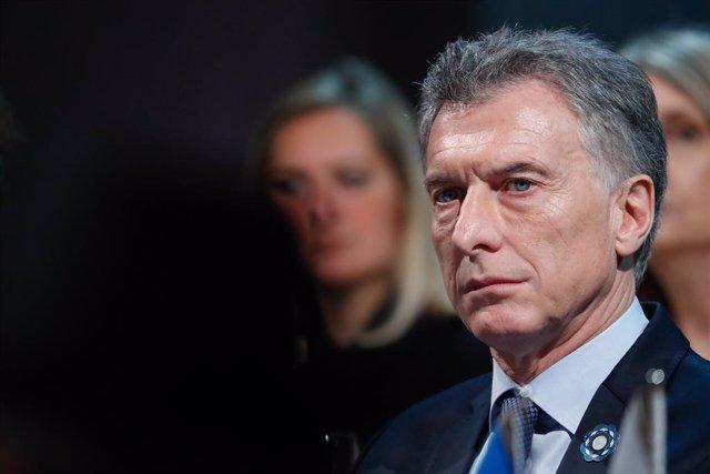 Archivo - El presidente de Argentina, Mauricio Macri