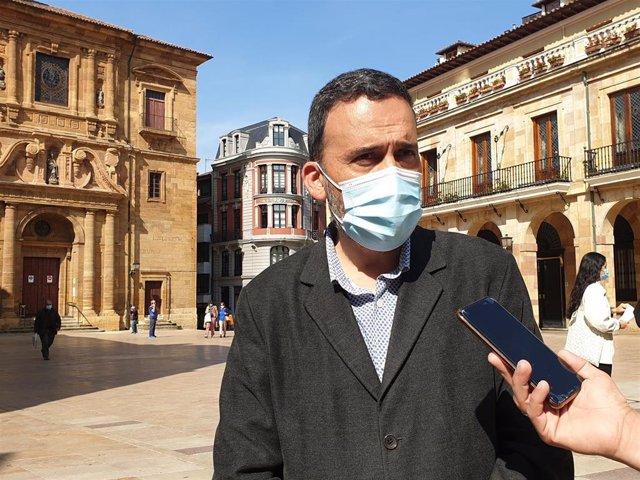 Archivo - El concejal socialista en el Ayuntamiento de Oviedo Ricardo Fernández