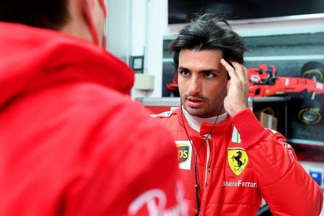 Archivo - Carlos Sainz (Ferrari)