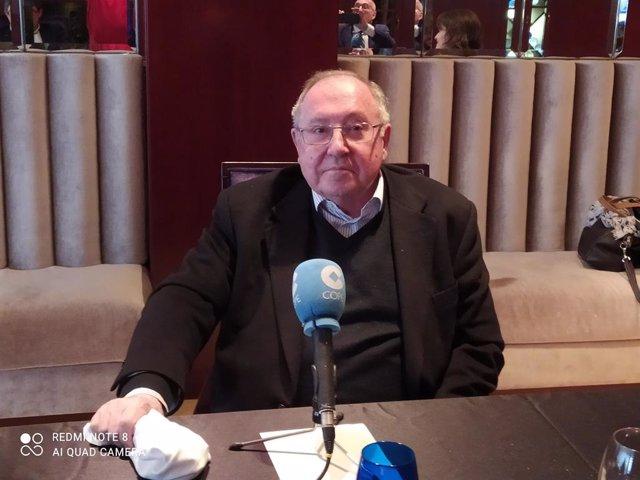 El president de la Cambra de comerç d'Espanya, Josep Lluís Bonet