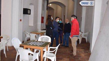 Unas 120 personas permanecen acogidas en la Plaza de Toros de Melilla