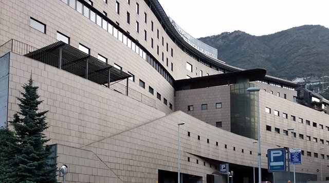 Archivo - Arxivo - L'hospital Nostra Senyora de Meritxell, en la parròquia d'Escaldis-Engordany, a Andorra.