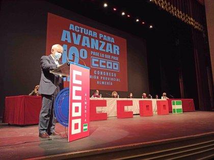 """Subdelegado subraya en el congreso de CCOO que """"el Gobierno lleva en su ADN el diálogo social"""""""
