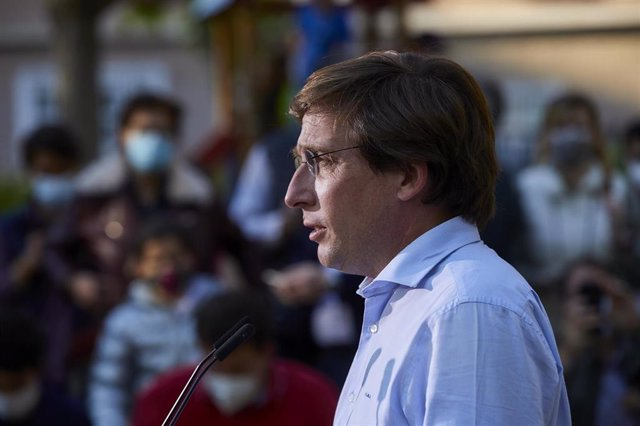 El portavoz nacional del Partido Popular, José Luis Martínez-Almeida.