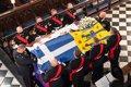 Reino Unido despide con un funeral reducido al duque de Edimburgo