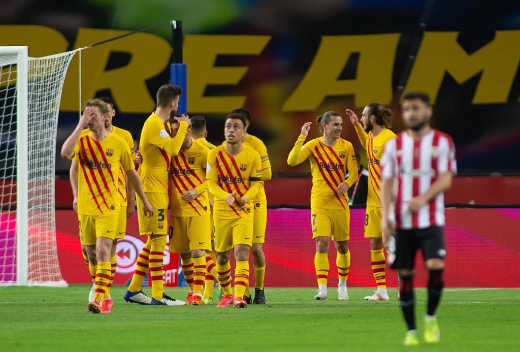 El Barça, campeón de Copa ante el Athletic Club