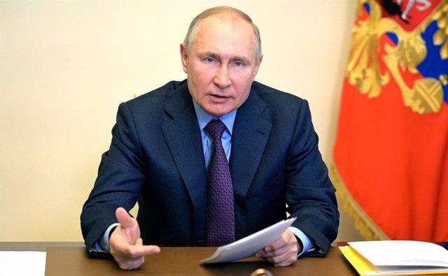 El presidente de Rusia, Vladmir Putin.