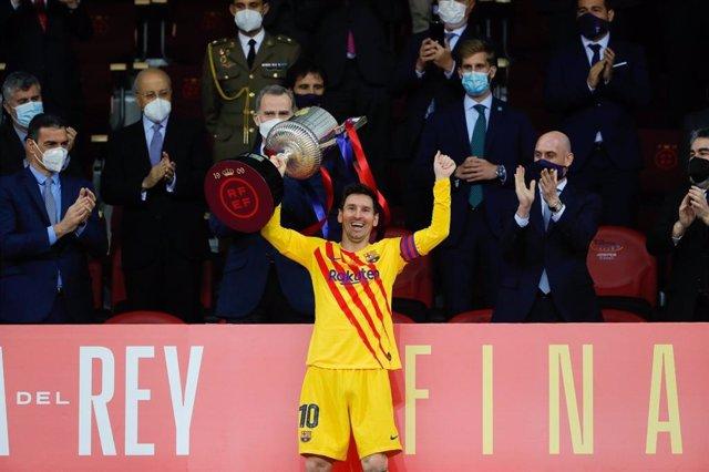 Messi, Copa del Rey