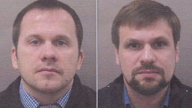 Alexander Petrov y Ruslan Boshirov, sospechosos del atentado contra el almacén de Vrbetice
