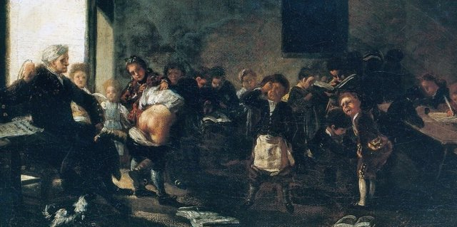 ÛLa letra con sangre entra',  de Francisco de Goya.