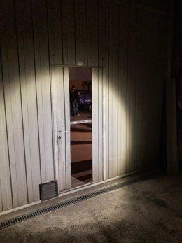 Intervención policial en una fiesta ilegal en un local de Avilés