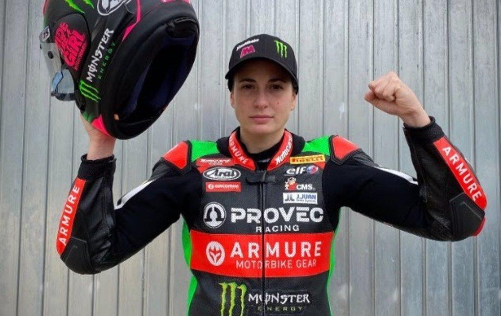 """Ana Carrasco: """"Lo que más quiero y necesito es subirme al podio lo antes posible"""""""