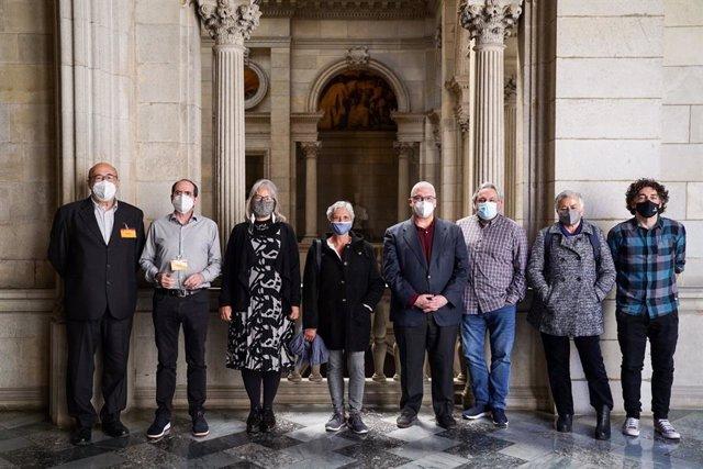 Els vuit candidats a la Sindicatura de Greuges de Barcelona.