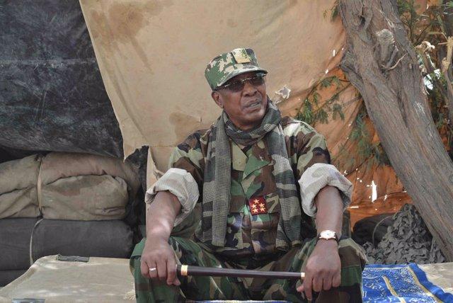 Archivo - El presidente de Chad, Idriss Déby