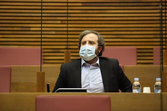 El diputado de Cs en Les Corts Valencianes Eduardo del Pozo
