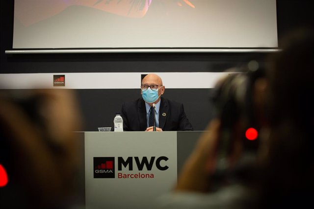 Archivo - Arxiu - El director del Mobile World Congress (MWC) i conseller delegat de la GSMA, John Hoffman