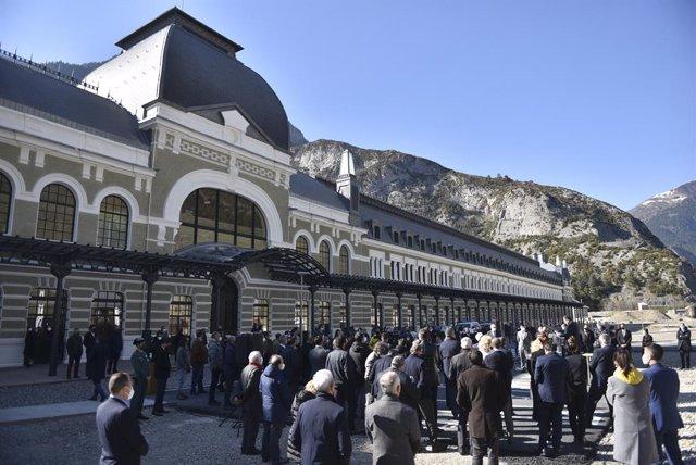 La nueva estación de Canfranc (Huesca) ha sido inaugurado esta semana