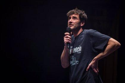 El humorista Joaquín Pajarón lleva al Palacio de Festivales su monólogo 'En demasía 2.0'