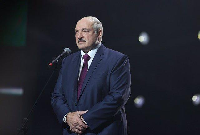 Archivo - El presidente de Bielorrusia, Alexander Lukashenko