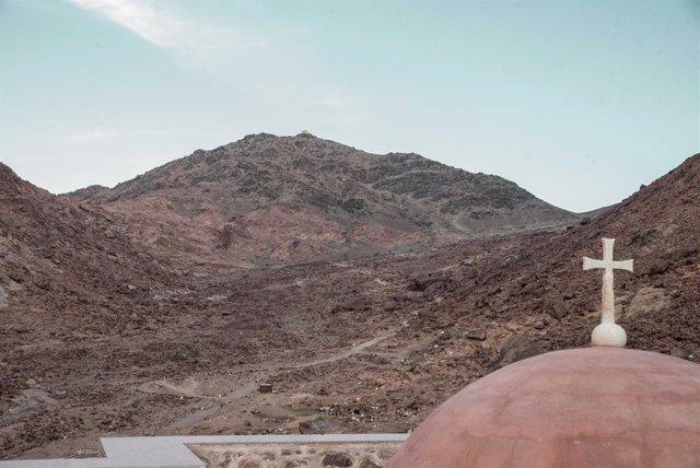 Monasterio de Santa Catalina, en la región egipcia del Sinaí