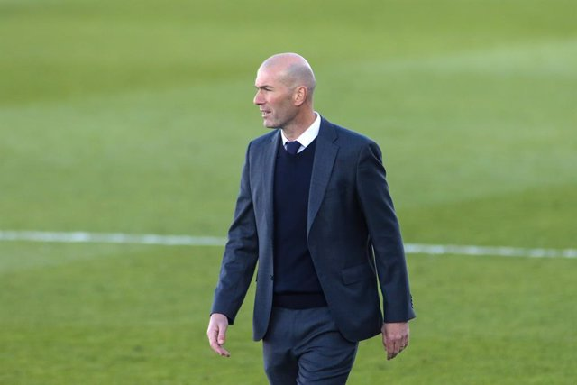 Archivo - Zinedine Zidane