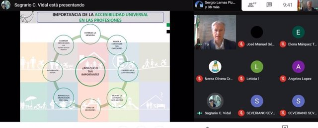 Taller sobre accesibilidad sensorial en Extremadura