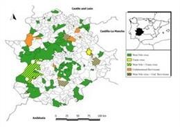 Estudio de prevalencia del virus del Nilo en aves silvestres en Extremadura