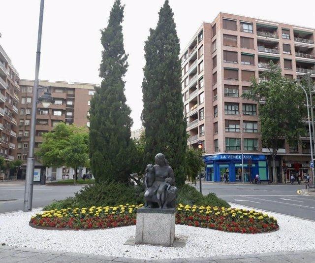 Monumento a la Madre en Logroño