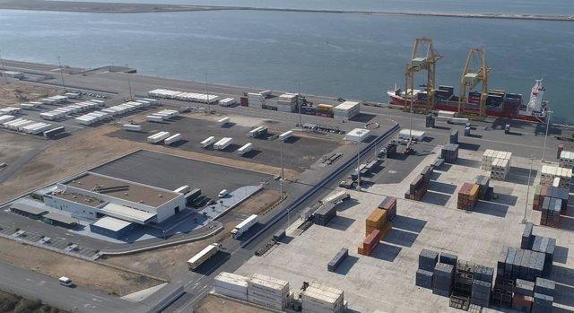 Archivo - Imagen general del Muelle Sur.