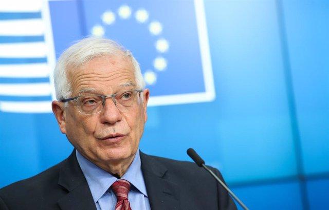 Arxiu - L'alt representant de la UE per a la Política Exterior i Seguretat Comuna, Josep Borrell.