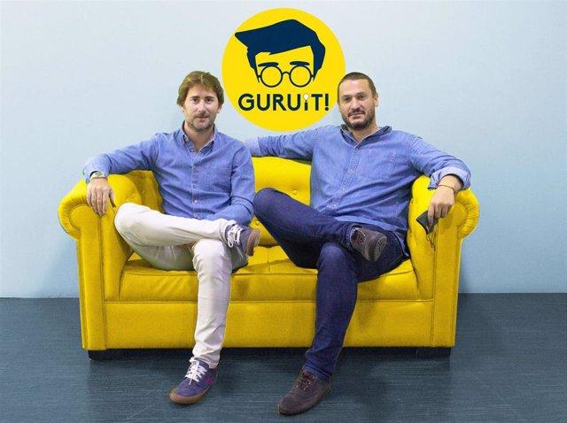 Pedro Pérez-Bedmar y Jaime Aparicio, fundadores de Guruit.